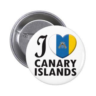 Amor de las islas Canarias Pins