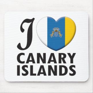 Amor de las islas Canarias Tapete De Raton