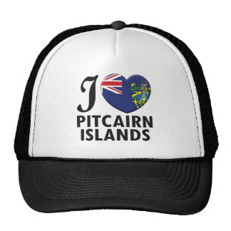 Amor de las islas de Pitcairn Gorro De Camionero
