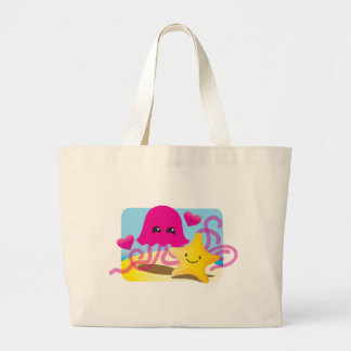 Amor de las medusas bolsa de mano