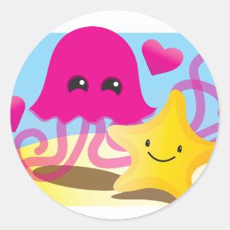 Amor de las medusas etiquetas