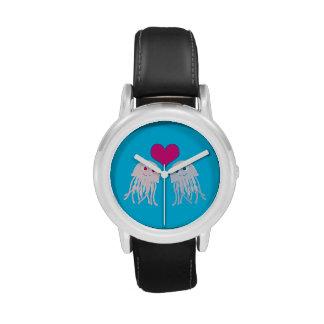 Amor de las medusas relojes