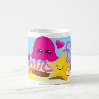 Amor de las medusas taza