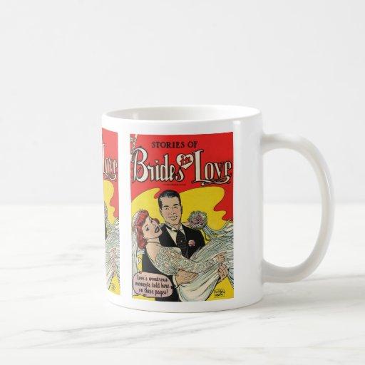 Amor de las novias taza básica blanca