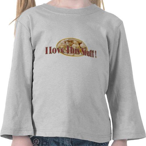 Amor de las palomitas camiseta