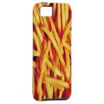 Amor de las patatas fritas iPhone 5 cárcasas