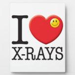 Amor de las radiografías placas