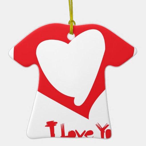 amor de las tarjetas del día de San Valentín Adornos