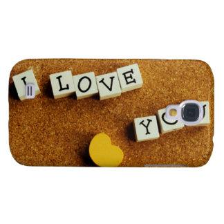 Amor de las tarjetas del día de San Valentín Samsung Galaxy S4 Cover