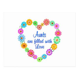 Amor de las tías postales