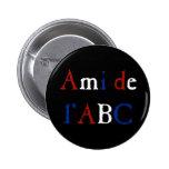 Amor de Les Misérables: Ami de l'ABC Button Pin Redondo De 2 Pulgadas