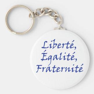 Amor de Les Misérables: Liberté, Égalité, Fraterni Llavero Redondo Tipo Pin