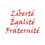 Amor de Les Misérables: Liberté, Égalité, Postal