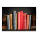 Amor de libros clásicos tarjeton