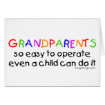 Amor de los abuelos tarjeton