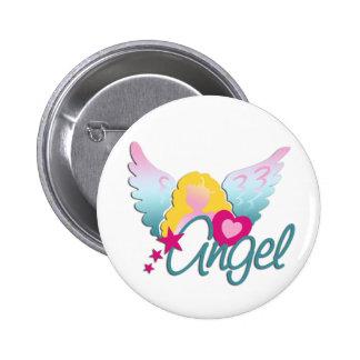 Amor de los ángeles pin redondo 5 cm