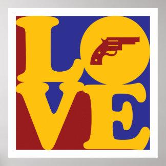 Amor de los armas impresiones