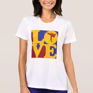 Amor de los artes marciales camisetas