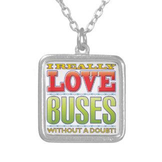Amor de los autobuses colgante cuadrado
