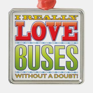 Amor de los autobuses ornato