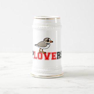Amor de los chorlitos jarra de cerveza