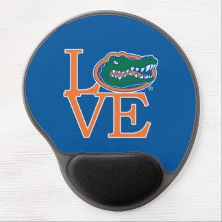Amor de los cocodrilos de la Florida Alfombrilla De Ratón Con Gel