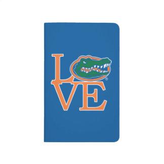 Amor de los cocodrilos de la Florida Cuadernos Grapados