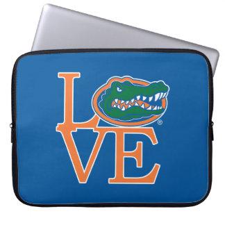 Amor de los cocodrilos de la Florida Funda Ordendadores