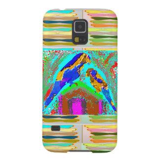 Amor de los NIÑOS: Loros pintados Carcasa De Galaxy S5