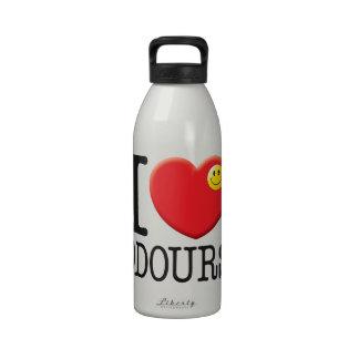 Amor de los olores botella de agua