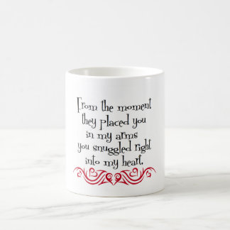 Amor de los padres taza de café