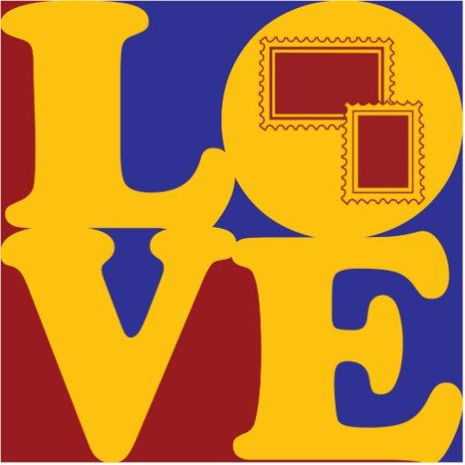 Amor de los sellos esculturas fotográficas