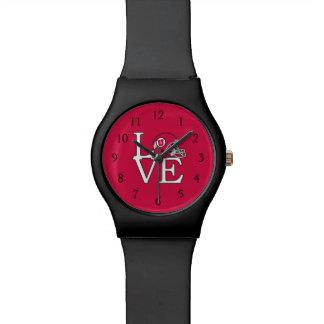 Amor de los Utes de Utah Relojes De Mano