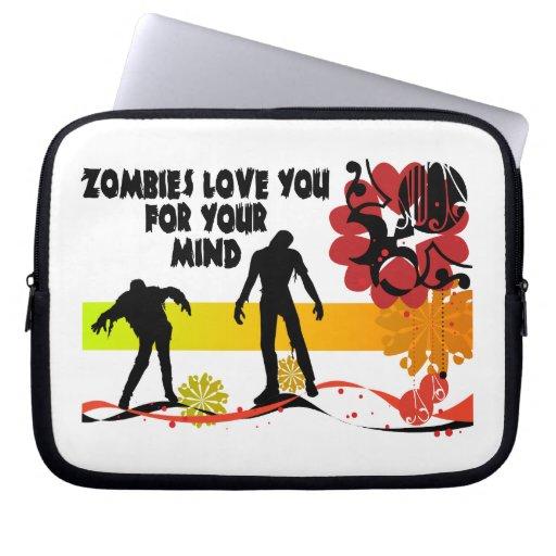 Amor de los zombis usted para su mente funda ordendadores