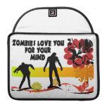 Amor de los zombis usted para su mente funda macbook pro