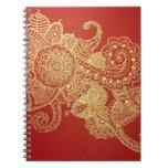 Amor de Lotus Libro De Apuntes Con Espiral