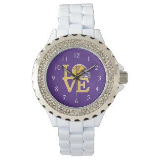 Amor de LSU Reloj