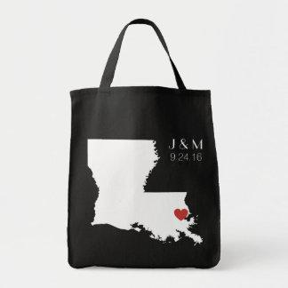 Amor de Luisiana - personalizable Bolsa Tela Para La Compra