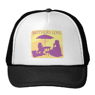 Amor de madres gorros bordados
