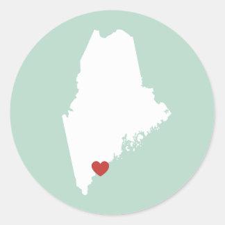 Amor de Maine - pegatina adaptable
