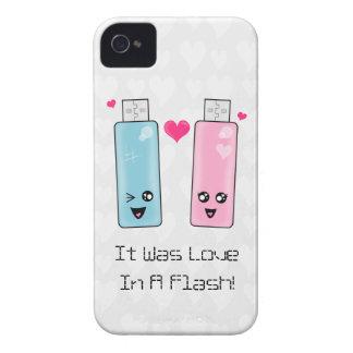 Amor de memoria USB iPhone 4 Carcasas
