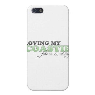 Amor de mi Coastie iPhone 5 Fundas