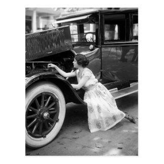 Amor de mi coche viejo, los años 20 tarjetas postales