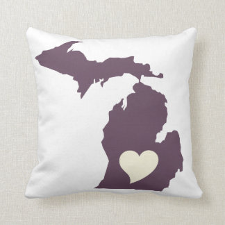 Amor de Michigan Cojín
