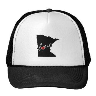¡Amor de Minnesota!  Regalos para los amantes del Gorras De Camionero