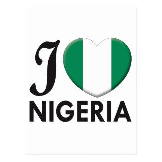 Amor de Nigeria Tarjetas Postales