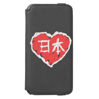 Amor de Nihon Funda Billetera Para iPhone 6 Watson
