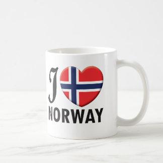 Amor de Noruega Taza Clásica