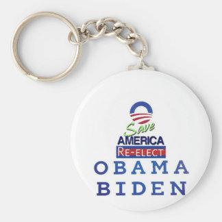 amor de obama i llavero redondo tipo pin
