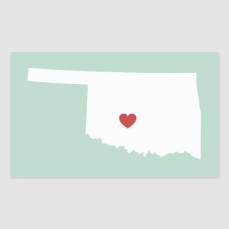 Amor de Oklahoma - pegatina adaptable